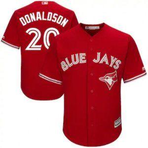 Toronto Blue Jays Josh Donaldson #20 Red Jersey